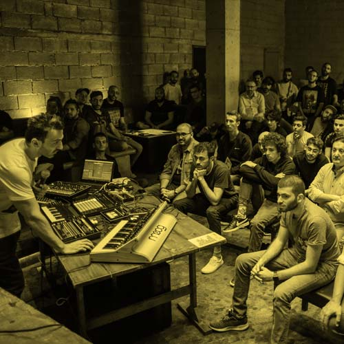 Ableton Live Workshop Reunion BBX Lebanon By G-Mohris Per-vurt