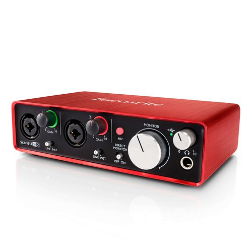 Focusrite Scarlett 2i2 G2 Soundcard audio interface lebanon