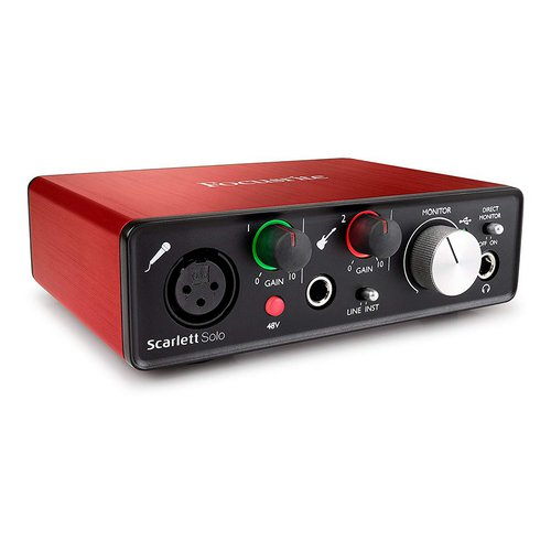 Focusrite Scarlett Solo G2 soundcard audio interface lebanon