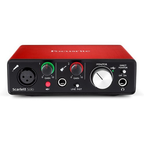 Focusrite Scarlett Solo G2 soundcard audio interface lebanon