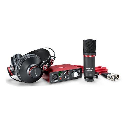 Focusrite Scarlett Solo Studio recording bundle package lebanon