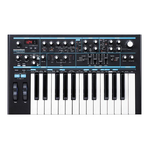 Novation Bass Station II Synthesizer monophonic analog lebanon