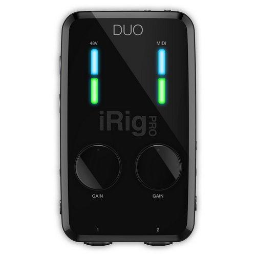 iK Multimedia iRig Pro Duo usb audio interface mobile recording lebanon