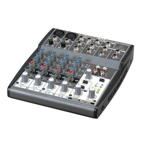 Behringer Xenyx 802 Mixer analog live stage lebanon