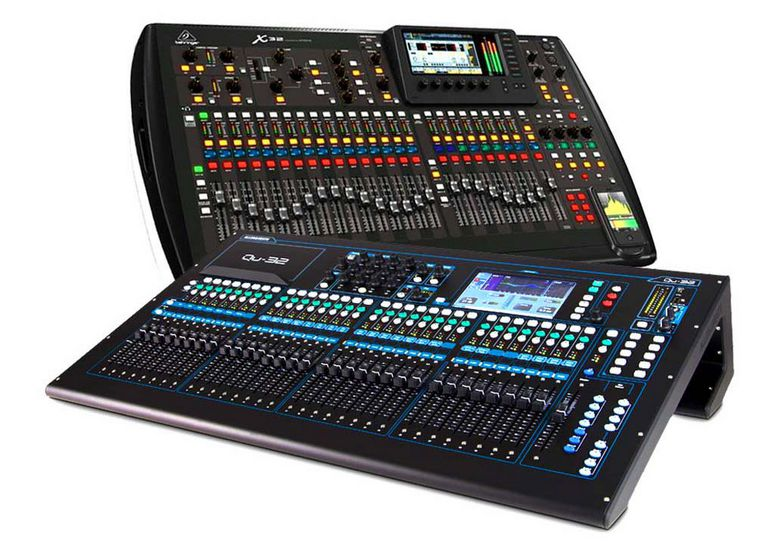 Live Sound Mixers lebanon products archive analog digital