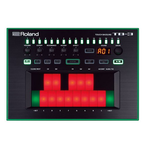 Roland AIRA TB-3 Touch Bassline synthesizer acid lebanon