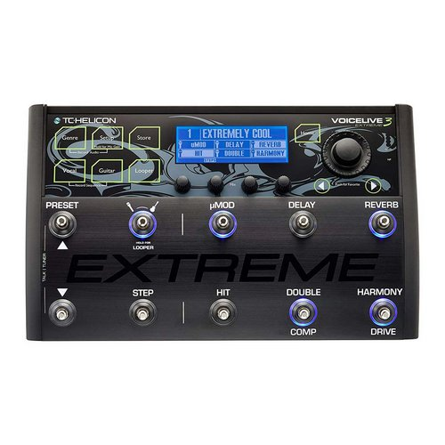 TC Helicon Voicelive 3 Extreme vocal instrument effect pedal lebanon