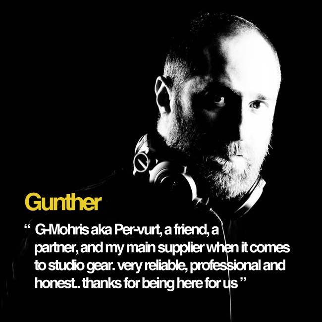 Gunther Supports Per-vurt