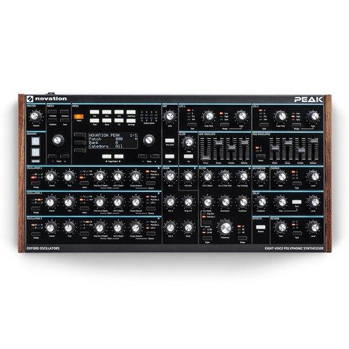 Novation Peak Synthesizer analog polyphonic lebanon