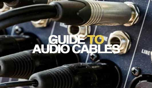 Guide To Audio Cables Lebanon