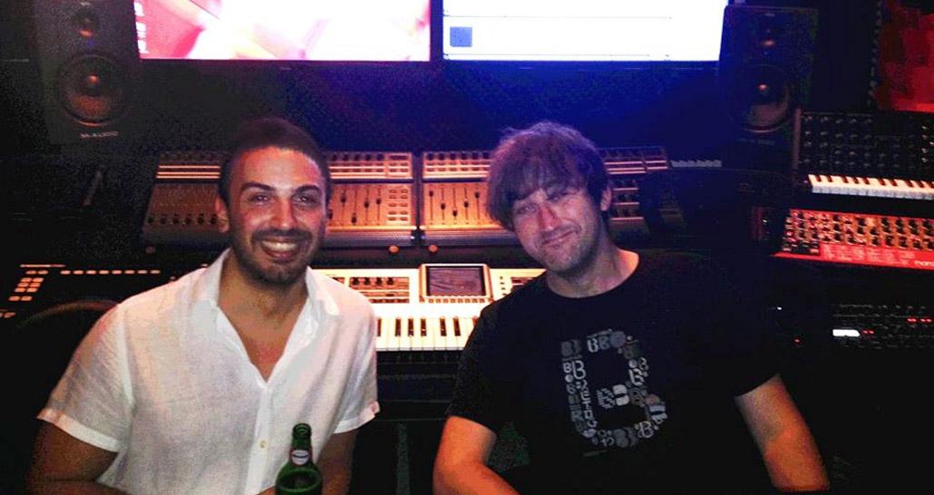 King Unique at Per-vurt DJ & Music Production School and Studio, Beirut Lebanon