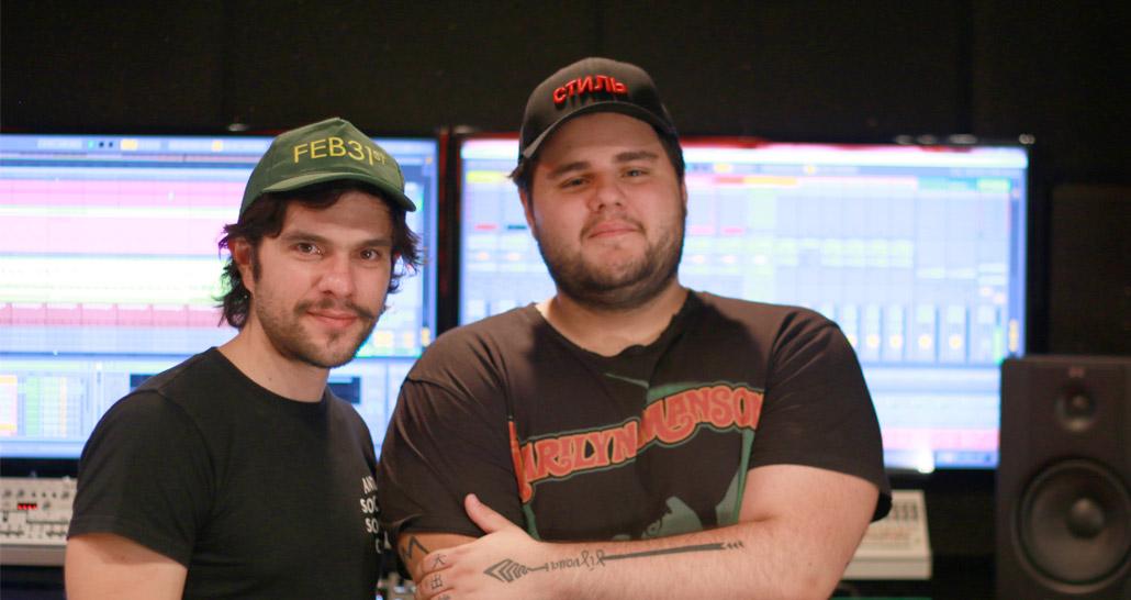 Mathame at Per-vurt DJ & Music Production School and Studio, Beirut Lebanon