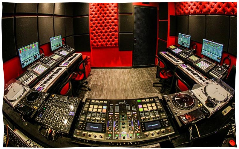 Per-vurt DJ School and Music Production Studio Lebanon Beirut
