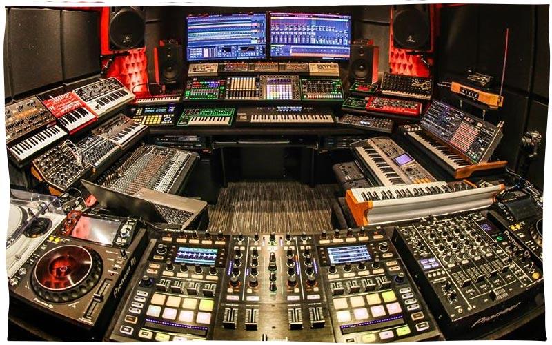 Per-vurt DJ School and Music Production Studio Lebanon Beirut