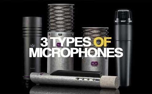 Types of Microphones Lebanon