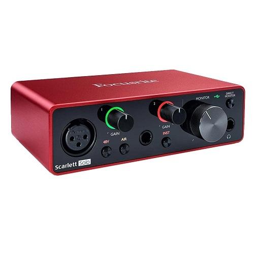 Focusrite Scarlett Solo g3 Audio Interface Soundcard Beirut Lebanon