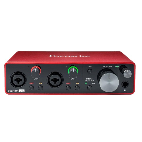 Focusrite Scarlett 2i2 g3 Audio Interface Soundcard Beirut Lebanon