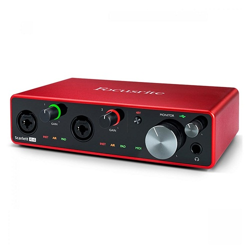 Focusrite Scarlett 4i4 g3 Audio Interface Soundcard Beirut Lebanon