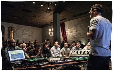 Ableton Official Workshop Masterclass Lebanon Beirut BBX Grand Factory G-Mohris