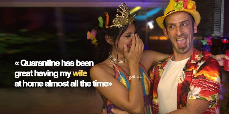DJ Madjam Interview Beirut Lebanon Quarantine Wife