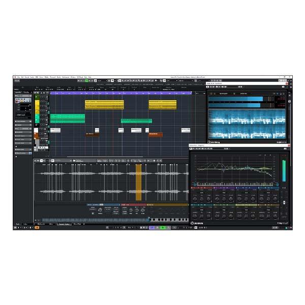 Steinberg Cubase 10 Pro DAW digital audio workstation music production recording software