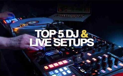 5 DIFFERENT DJ & PERFORMANCE SET-UPS setups