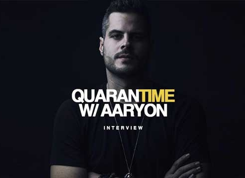 Interview DJ Aaryon Quarantime