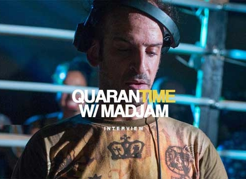 Interview DJ Madjam Quarantime