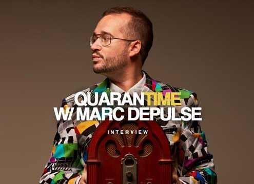 Interview DJ Marc Depulse Quarantime