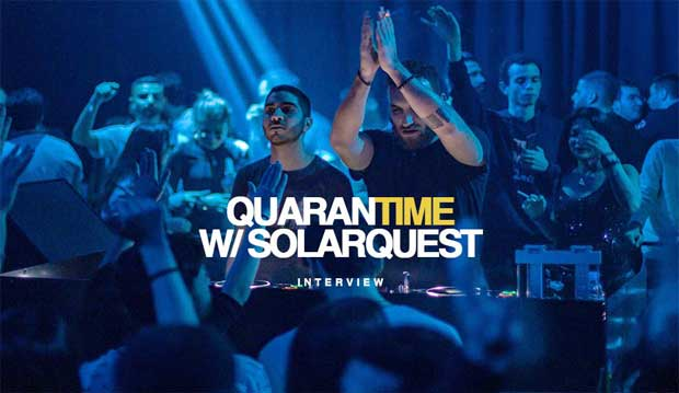 Interview DJ Solarquest Quarantime