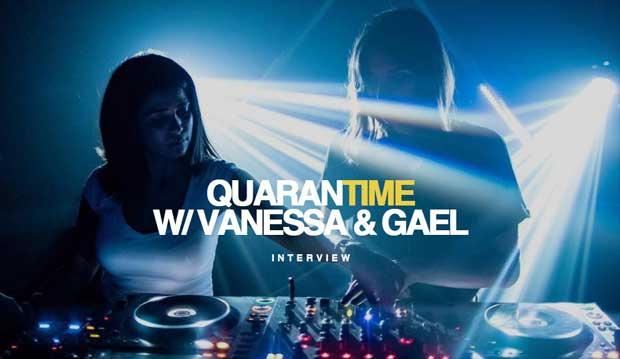 Interview DJ Vanessa Gael Quarantime