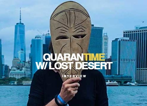 Interview Lost Desert DJ Producer